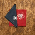 Compass Rose Linen Napkins -SOLD OUT