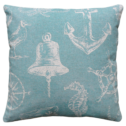 Nautical Linen Pillow