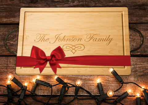 Rectangle Custom Cutting Board - Great Gift Idea!