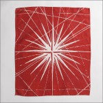Compass Rose Linen Hand Towels