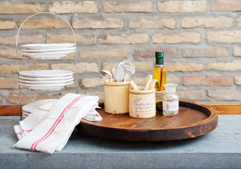 Spanish Olive Lazy Susan -SOLD OUT!