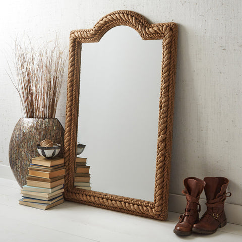 Rectangle Rope Mirror - SOLD OUT