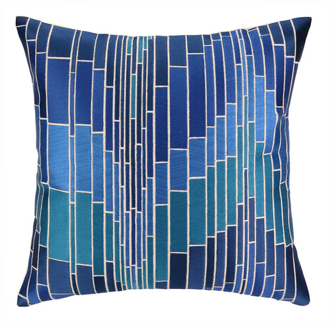 Trina Turk Loomis Pillow - Blue