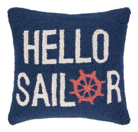 Hello Sailor Pillow - SOLD OUT