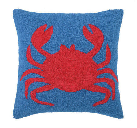 Happy Crab Hook Pillow -SOLD OUT!