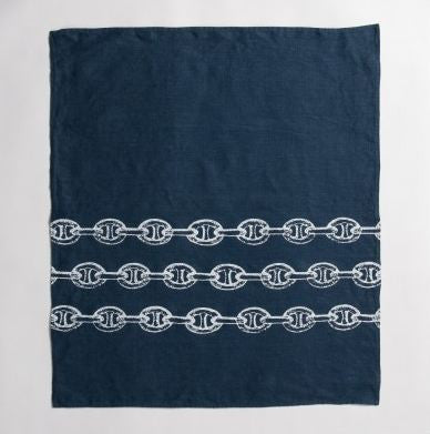 Anchor Chain - Linen Hand Towels