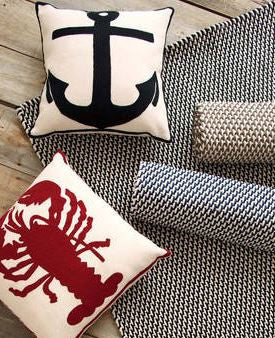 Admiral Anchor Indoor/Outdoor Pillow | Coast to Home | www.coast-to ...