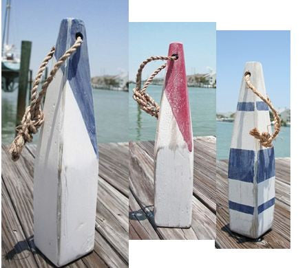 Tall Hand Painted Buoys