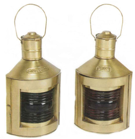 Port and Starboard Lanterns