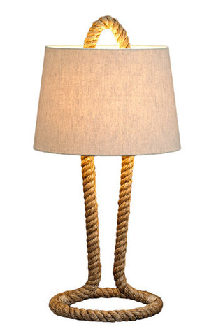 Rope Pier Table Lamp
