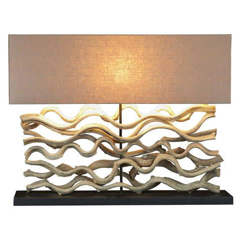 Natural Vine Lamp - Large