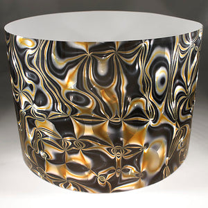 Drum-Wrap Reflexions Alchemy Silver Gold Depth From 3'' to 14''.