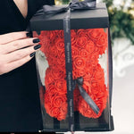 Luxury Rose Teddy Bear With Box