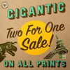 Gigantic July Savings and New Art!