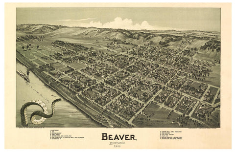 Beaver, PA and the Ohio River Monster