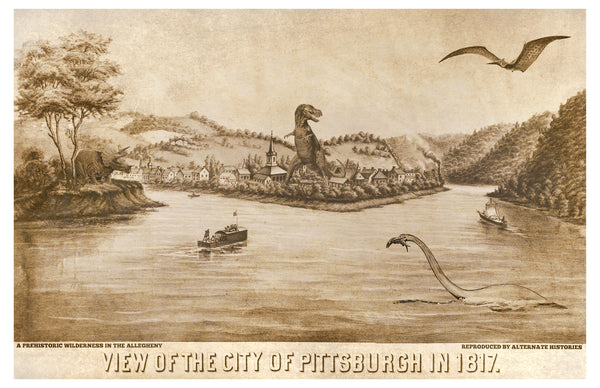 Pittsburgh in 1817