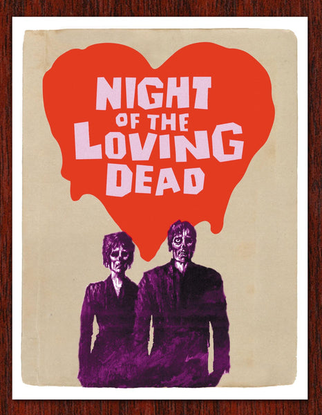 Night of the Loving Dead Card