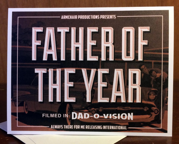 Father of the Year Card