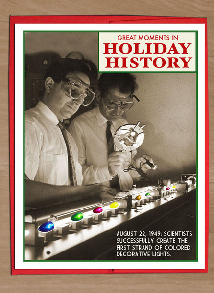 Great Moments in Holiday History Variety Card Pack