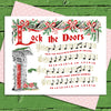 Lock the Doors Holiday Cards