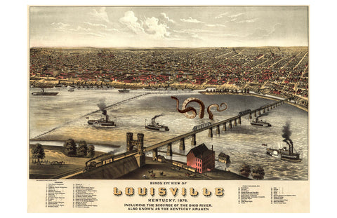 Birds-Eye View of Louisville