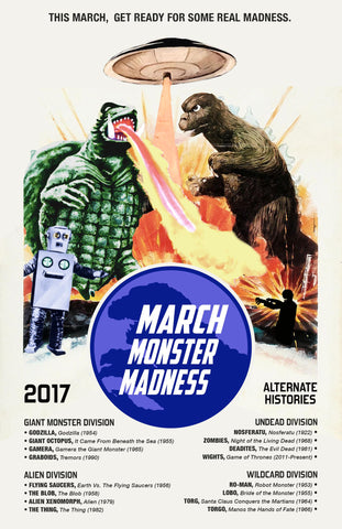 March Monster Madness 2017 Poster