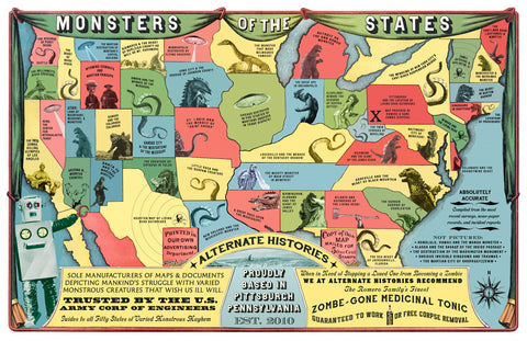 Monsters of the United States