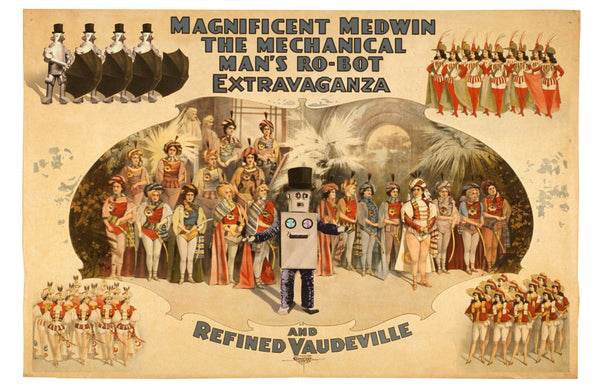 Magnificent Medwin's Ro-Bot Revue