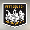Pittsburgh: Monster City USA Banner PRE-ORDER