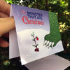 """The Monster that Ate Christmas"" Card"