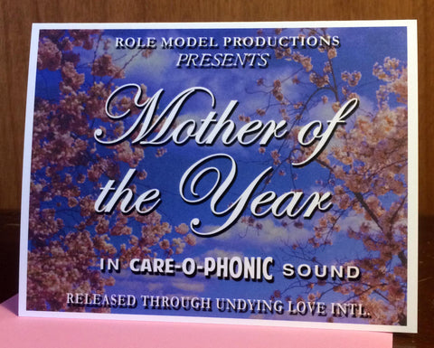 Mother of the Year Card