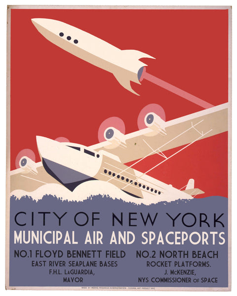 New York City Air and Spaceports