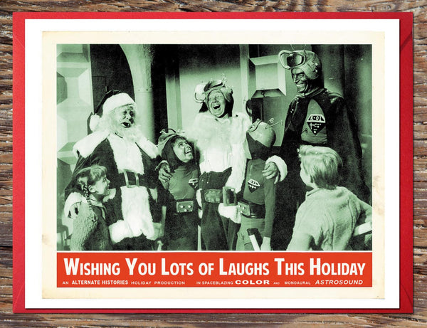 Lots of Laughs Holiday Card