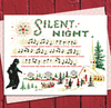 Silent Night Monster Holiday Card