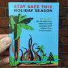 Stay Safe Kraken Holiday Card