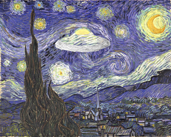 The Unusually Starry Night
