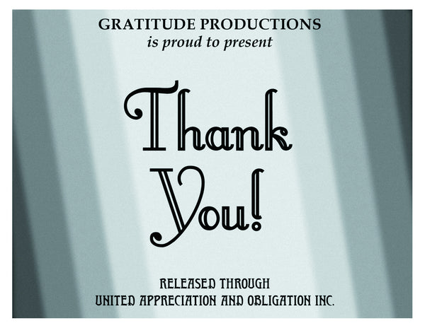 Thank You Movie Title Card