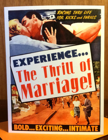 Thrill of Marriage Card