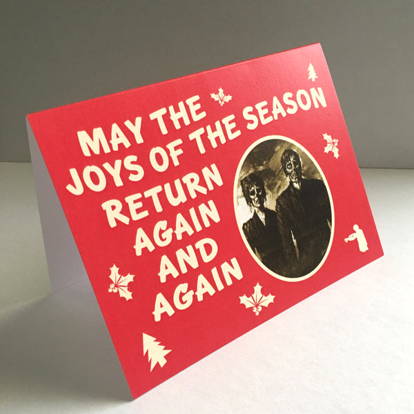 Zombie Holiday Card