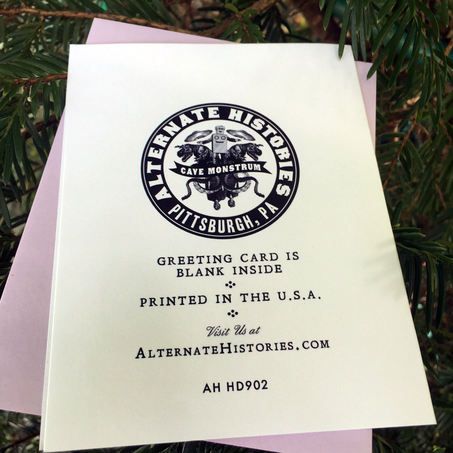 Holiday Cards Alternate Histories