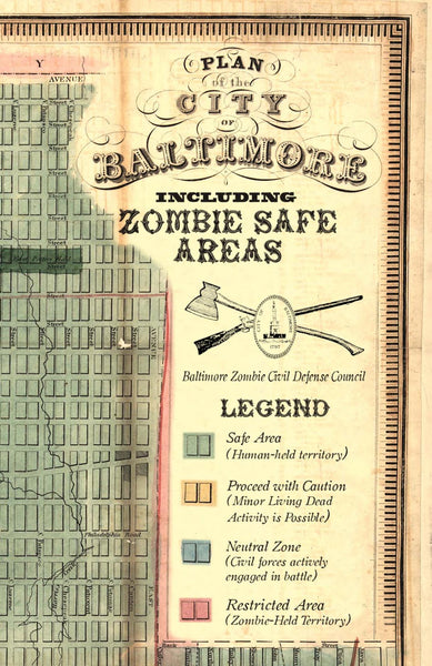 Baltimore's Zombie Safe Areas