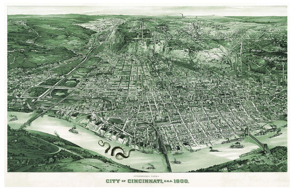 City of Cincinnati circa 1900
