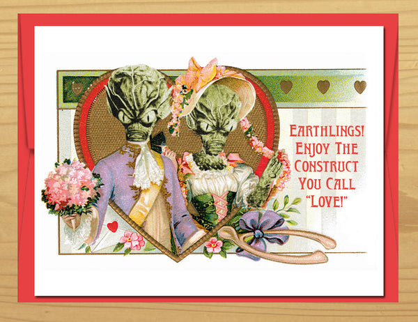 Love is an Earth Construct Card