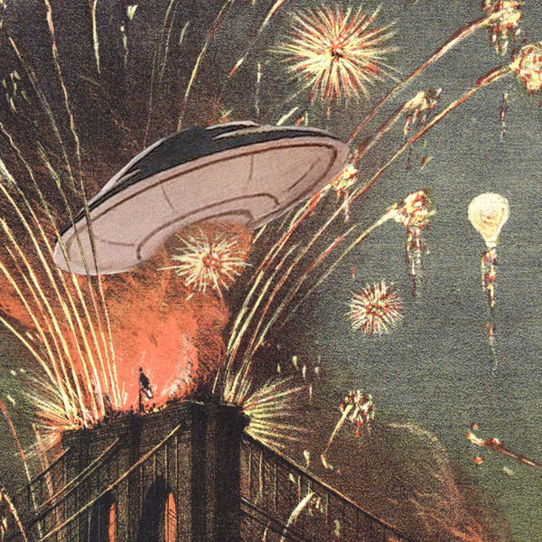 Fireworks and Flying Saucers