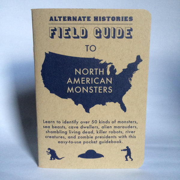 Field Guide to North American Monsters Notebook