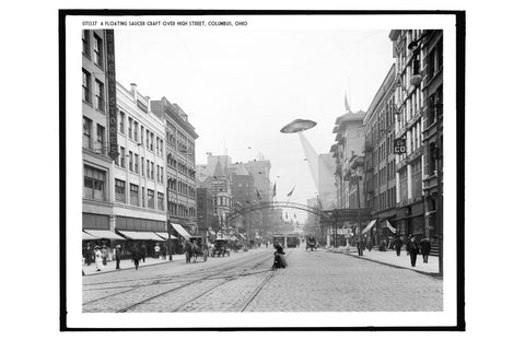 A Floating Saucer Over Columbus