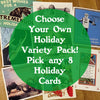 Choose Your Own Holiday Card Pack