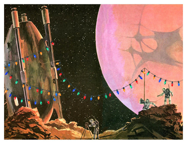 Holidays in Space: Christmas Lights on Mars