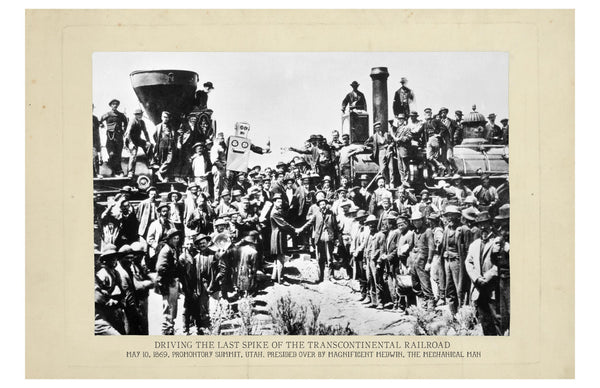 The Last Spike in the Transcontinental Railroad