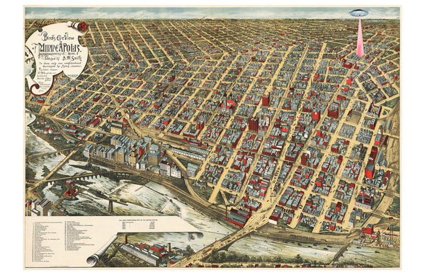 Minneapolis in 1891
